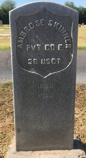 Private Ambrose Skinner grave