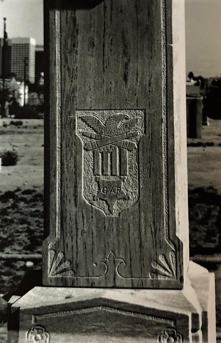 Jerry Neville (1848-1890) GAR Monument, Phoenix, AZ